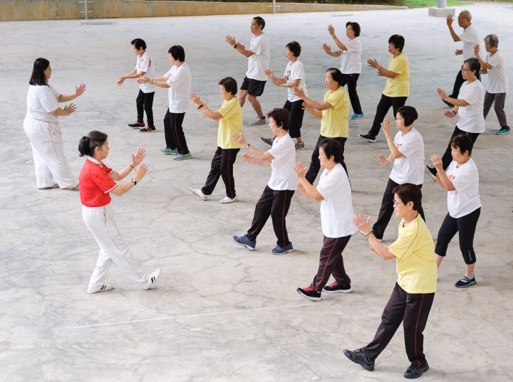 QiGong practitioners